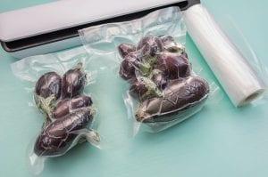 Vakuumbeutel eignen sich perfekt zum Einfrieren von Lebensmitteln